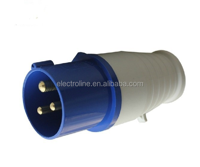 Hot Sale,Made In China,CE Certificate,013 16A 3P IP44 220V Industrial male plug