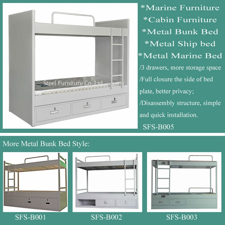 Single bed wall mounted bed bunk beds used marine Wall mounted bunk beds