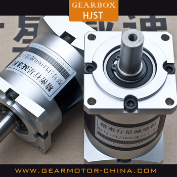 PLE60 3 stage 1:80 ratio cycloidal speed reducer gearbox