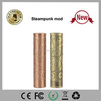 Wholesale mechanical mod Copper Plated Chi You Style Mod Steam Punk Mechanical mod