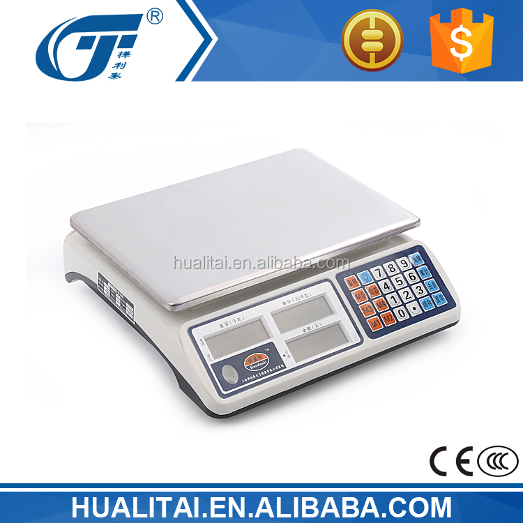 30kg acs series mill scale with computing price function and 1g accuracy