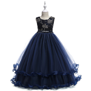 Girls Party Dresses Communion Dress For Kids Ball Gown