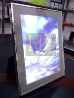 LED Acrylic lighting photo frames, picture frame led light box