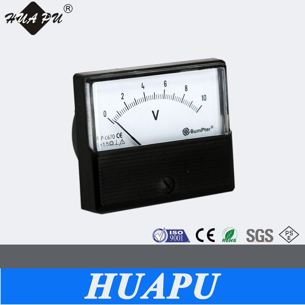 Manufacturer Bp-670 Analog Panel Meter Voltage Meter Ac Dc Ammeter ...