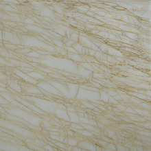 Natural Greece Golden spider Cream Marble Slab For Project And Decoration