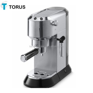 coffee maker with ABS outer shell Silver cover