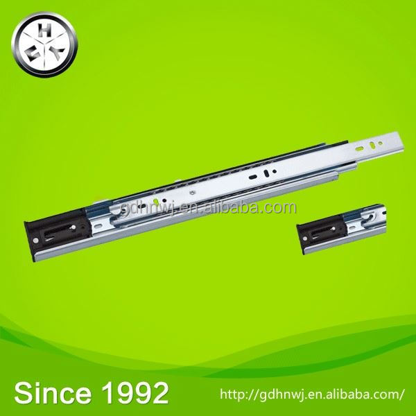 Ball Bearing Drawer Slide with Dotted Plated, Telescopic Channel Rail for Drawer