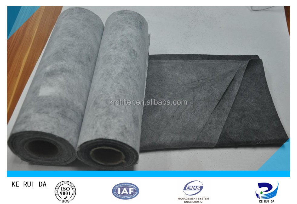 Activated Carbon Air Filter Cartridge/ Media /Cloth