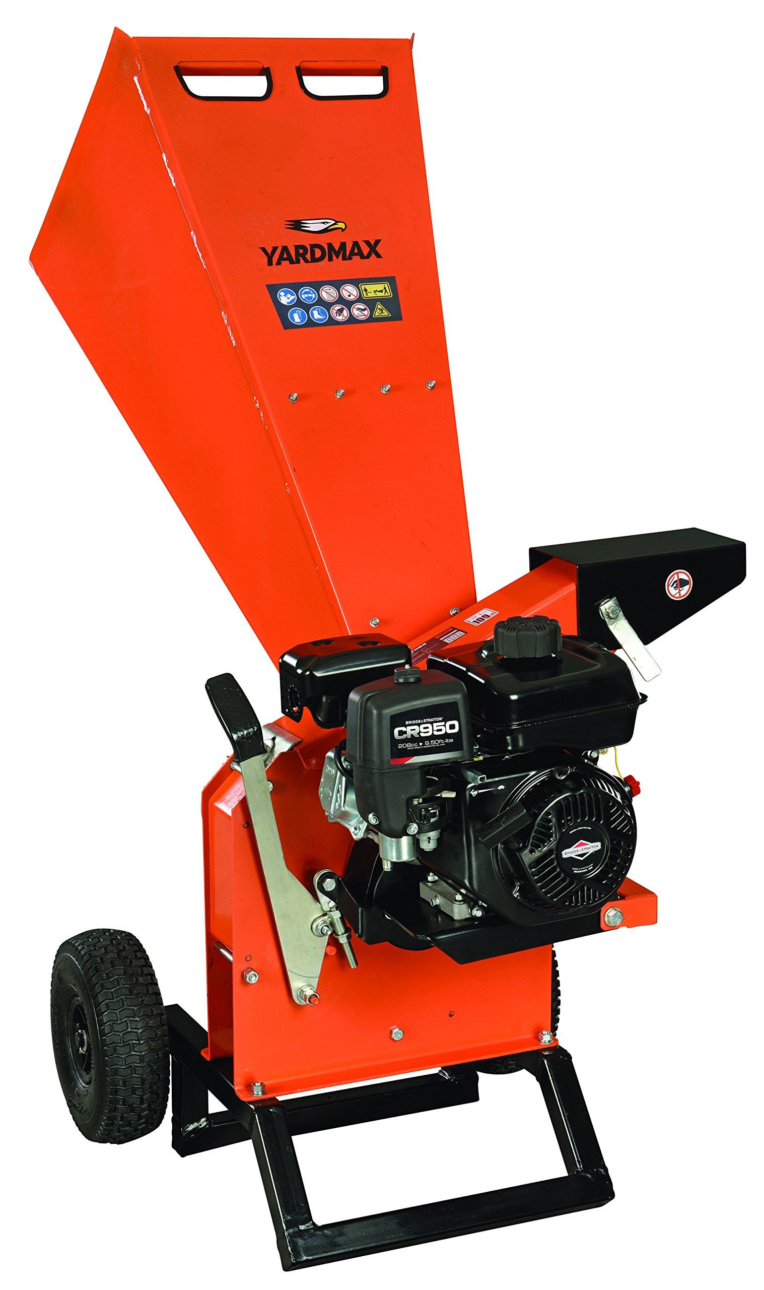 Get Quotations Yardmax Yw7565 Chipper Shredder 3 Diameter Briggs Stratton Cr950 6 5