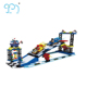 Plastic Building Blocks Toys Building Blocks 500 PCS Kids Car Racing Games For Kids Banbao Building Blocks With CE Certificate