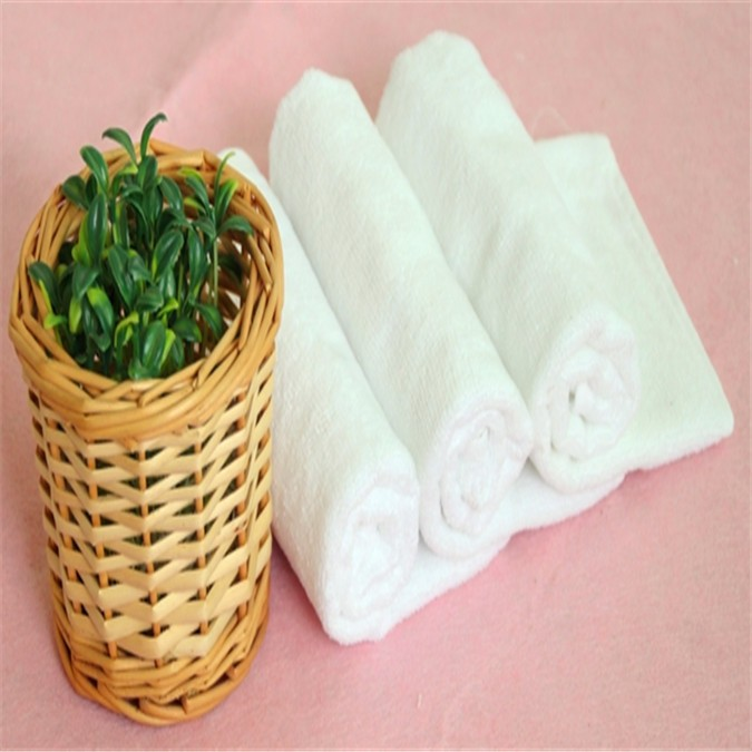 China Factory Towels Wholesale For Plain White Cotton Tea