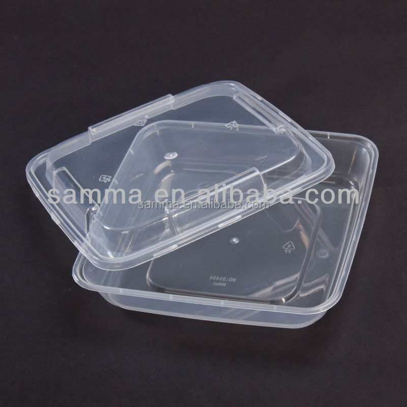 Wholesale Cheap Plastic Small Restaurant Food Container