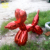 Hot Sale High Quality Hand Carving Fiberglass Cartoon Balloon Dog Sculpture