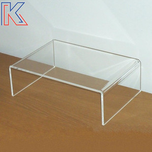 Clear Acrylic Riser Notebook Computer,can Be Printed Your Custom Logo Cabinet Computer Display Stand