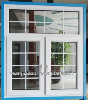 Competitive price grills design upvc windows buy upvc for Upvc window designs