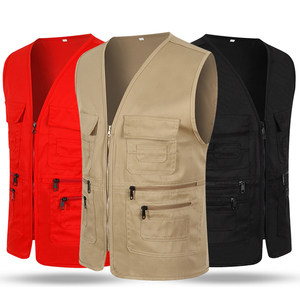 Factory customized new style tourist waistcoat vest