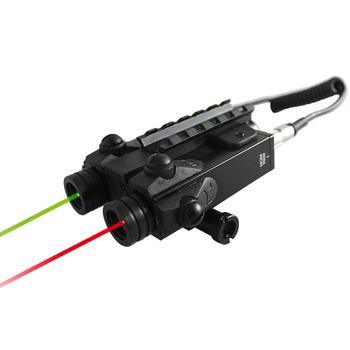ライフルレーザーサイトm16緑と赤のレーザーコンボ buy m16レーザー