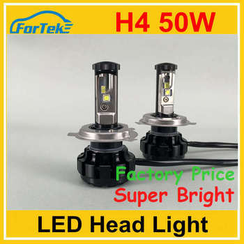 Car h4 led headlight bulbs H4 100w 10000lm led car headlight