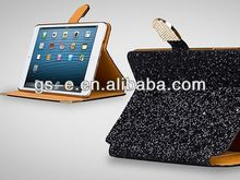 High end Diamond Pattern Card Slots Wallet Leather Cover Stand Case For iPAD MINI 2