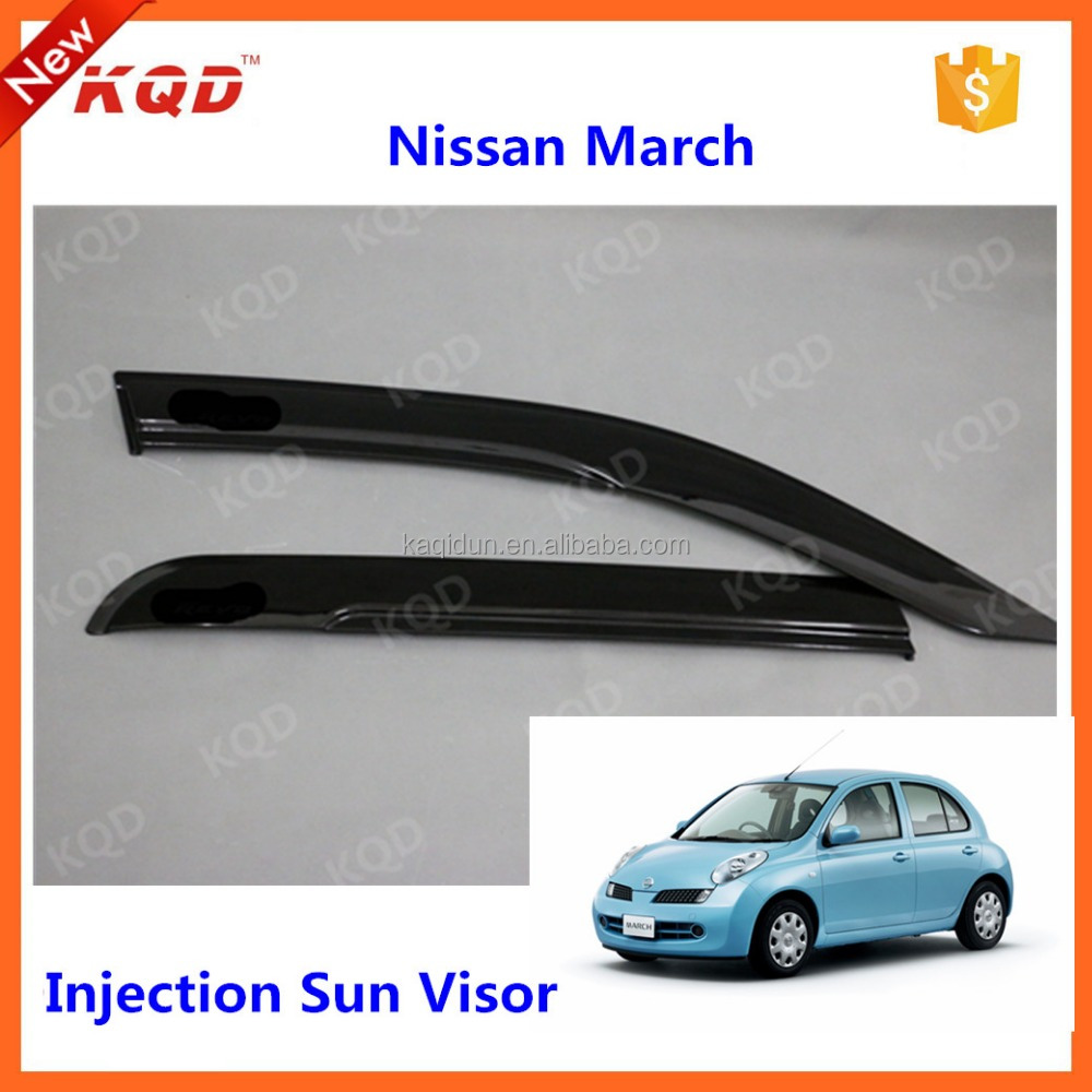 accessories march injection window sun visor for MICRA/MARCH accessorios window visor for march parts