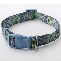 High quality cheap personalized bamboo dog collar