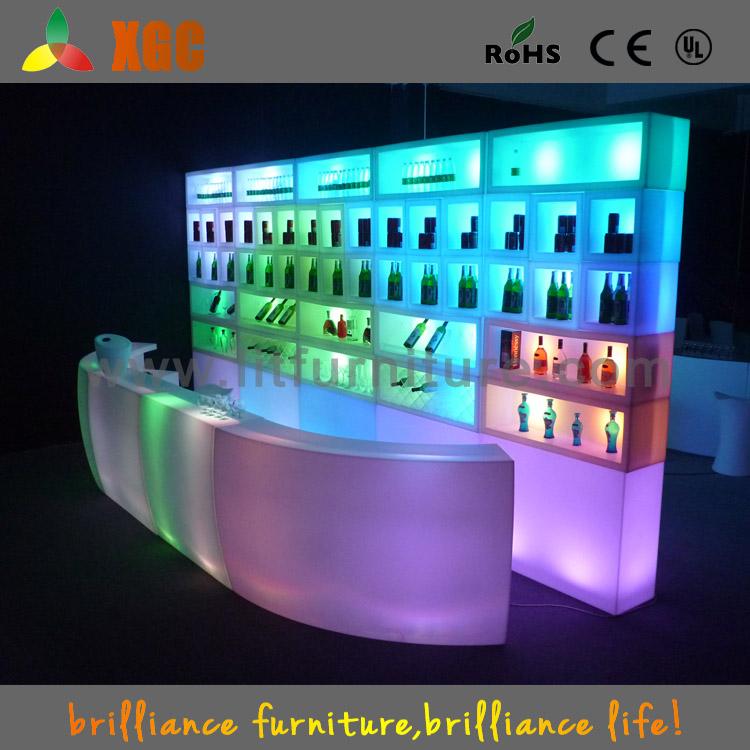 Indoor Bar Furniture/led Wall Shelf/bar Wall Shelf