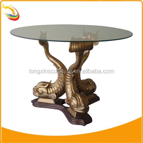 Bronze Coffee Animal Table Base Bronze Three Horse Coffee Table Base Metal Coffee  Table Base