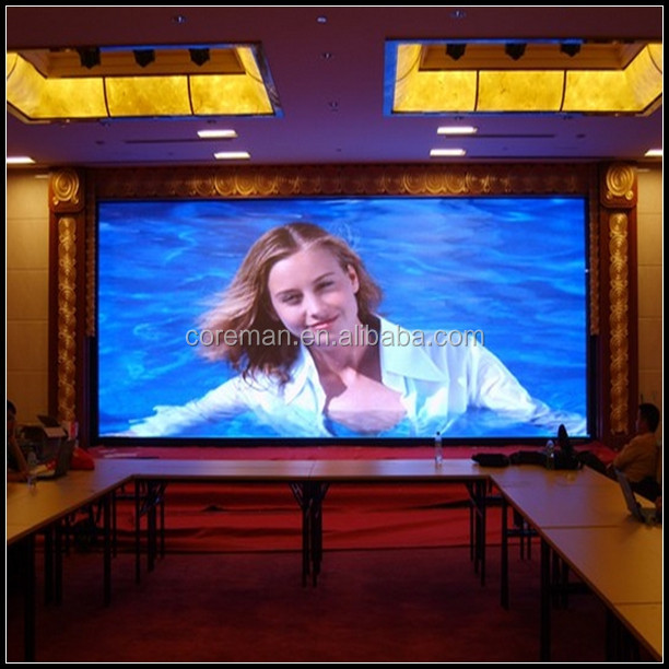 P4 P5 Slim Rental Led Video Signs / full color Super Light Weight P4 Indoor Led Sign display