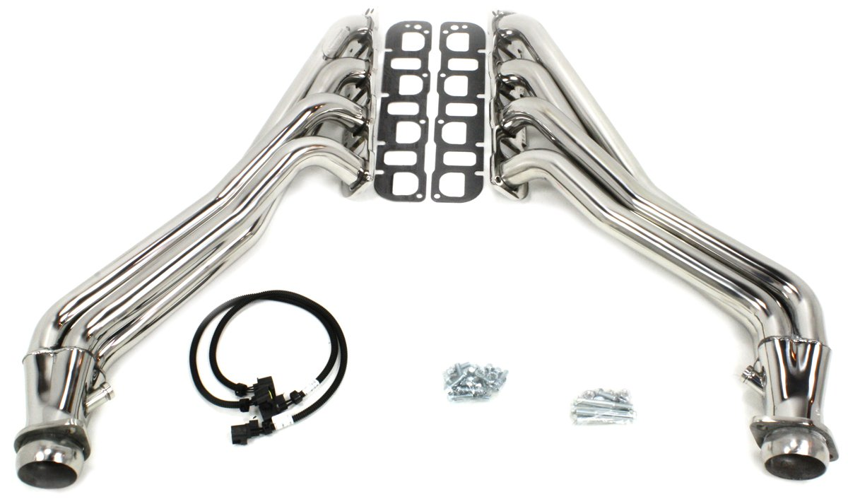 "JBA (36967S) 304 Series 1-7/8"" Stainless Steel Long Tube Exhaust Header for Jeep SRT-8 6.1/6.4L Engine"