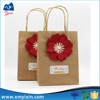 Factory made paper tote bag kraft paper bag shopping