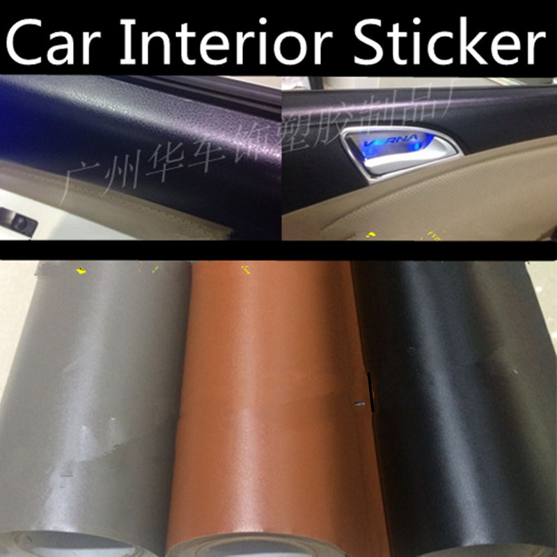 152 50cm car leather film auto upholstery membrane car - Automotive interior protective film ...