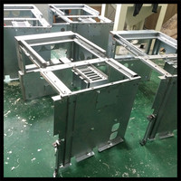 China factory customized Solid stainless steel pull handle by CNC furniture hardware made in china