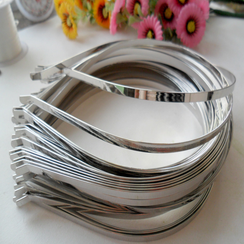 2mm-10mm plain tiara base <strong>headbands</strong> in metal <strong>headband</strong> DIY accessories