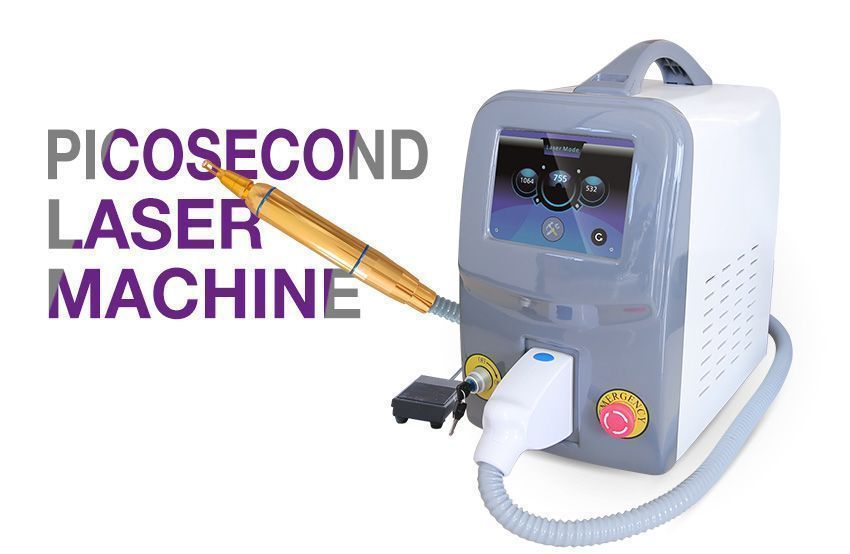 Portable q switched nd yag laser for tattoo removal