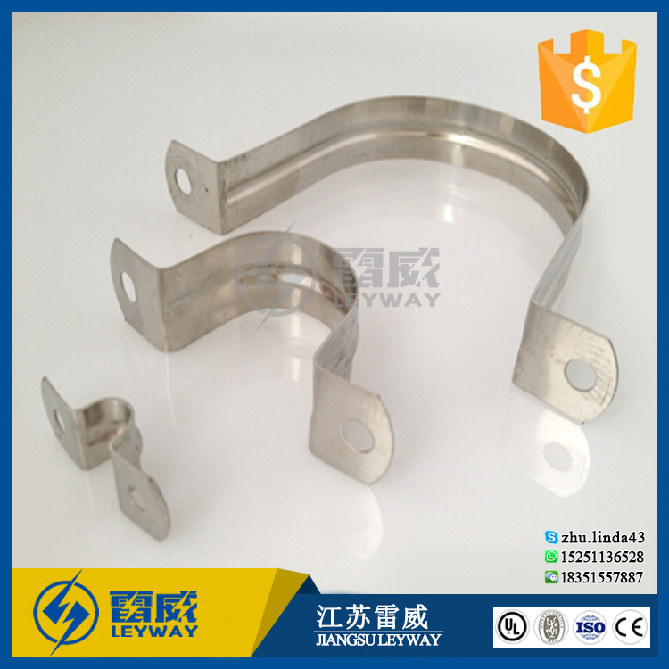 Hot sale Stainless steel C shape U type hose saddle pipe clamp