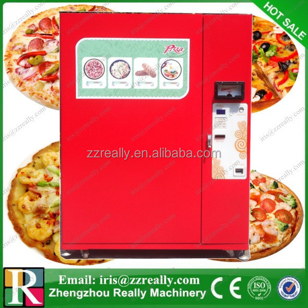 Hot food and automatic let's pizza vending machines for sale