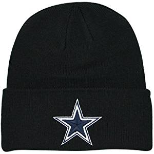 d670d576f70c6 Get Quotations · Dallas Cowboys Basic Knit Hat Black
