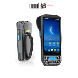 4G LTE wifi wireless Portable Mobile hand held rugged pda industrial android handheld terminal barcode scanner NFC rfid reader