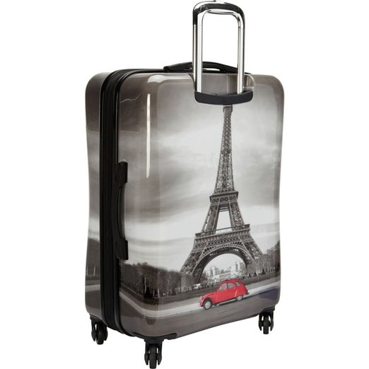 Eiffel Tower Abs Pc Trolley Luggage,Travel Luggage,Trolley Travel ...