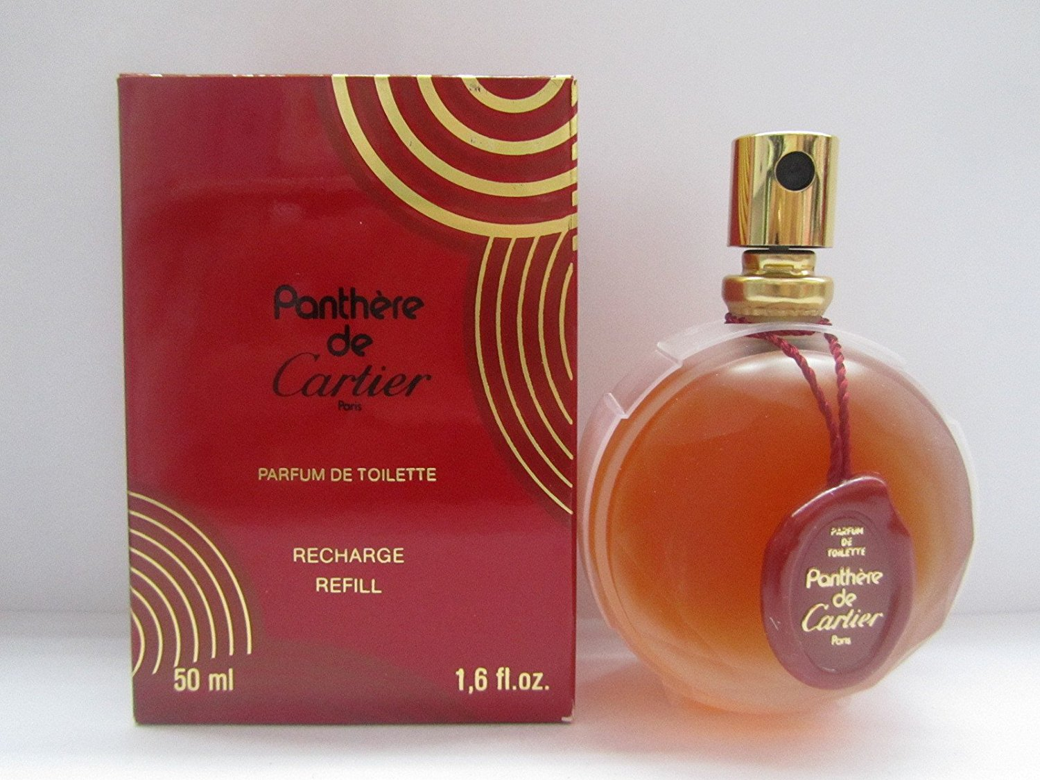 aaa836a565d Get Quotations · Panthere De Cartier by Cartier Women Perfume 1.6 oz Parfum  De Toilette Refill