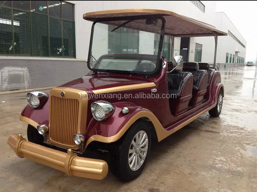 China mnufacturer customized FC ECAR classic/vintage car for passengers