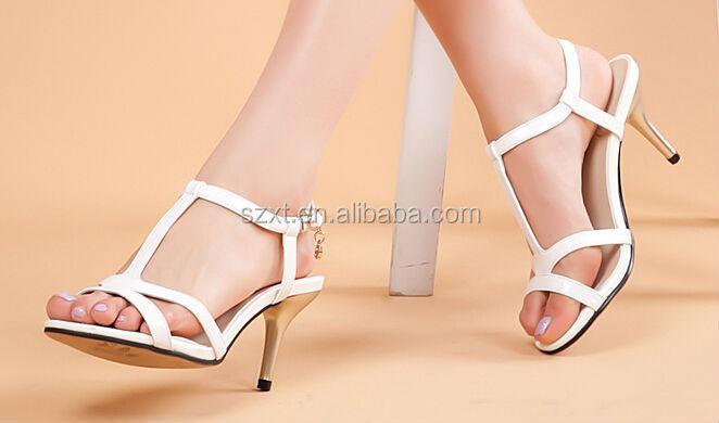 Sexy Stiletto High Heels Woman Sandal Ladies High Heel Sandals Low ...