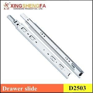 metal drawer slide rail/full extension drawer slide