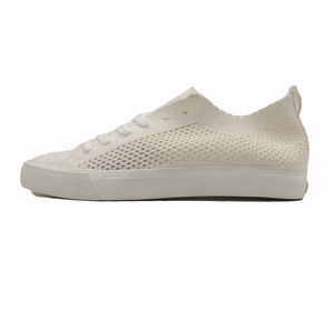 2018 new model plain off white flyknit custom ladies women shoes