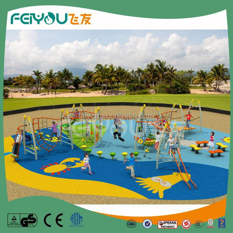 Safe and easy to play fitness gym equipment kids playground