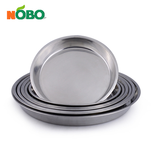 Stainless Steel Round Polishing Indian Thali Plates
