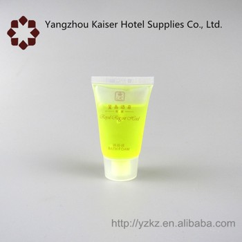 Hotel amenity free sample and 30 ml hotel shampoo cosmetics tube