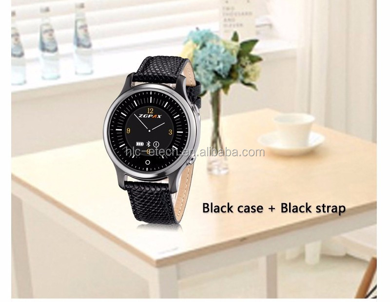 Bluetooth Smart Watch Wristwatch SOS Round Wrist Smartwatch Phone Mate for Samsung For Huawei Android Smartphones