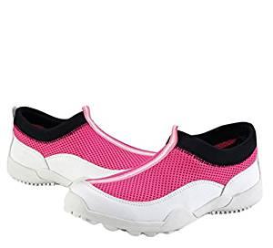 Shangtom416 Golf Shoes Women Golf Shoe Breathable No-Slip Wear Resistance Pink US5 EU35 UK2.5