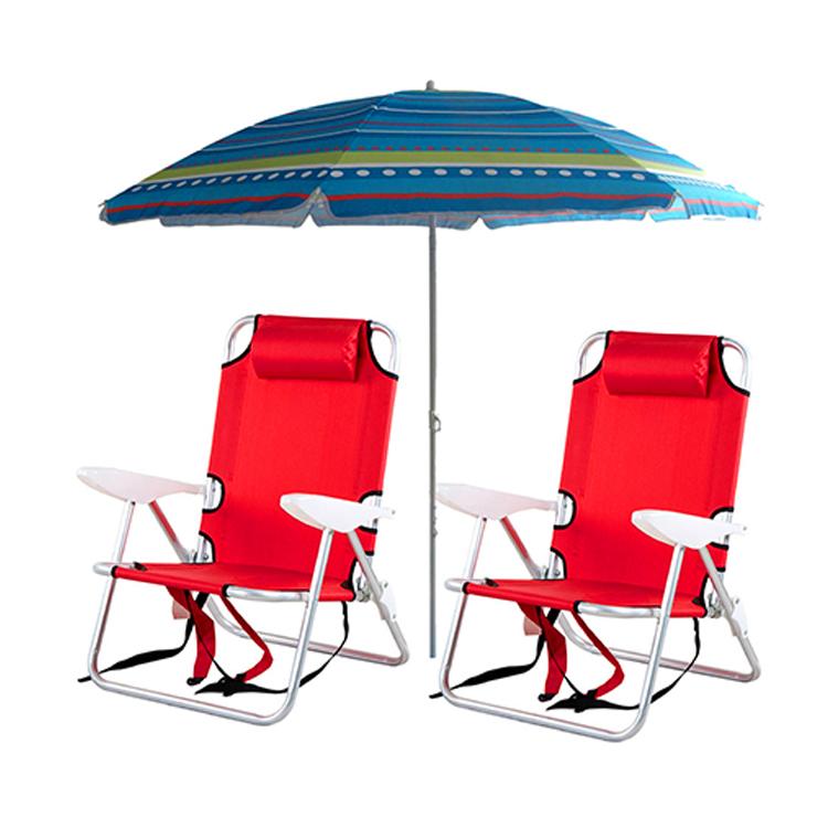 Beach Chair Umbrella Set Sunshade Towel Product On Alibaba